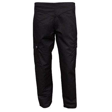 John Ritzenthaler LP002BK-XL - Women's Cargo Pants, 6 pockets, 1XL(40-42), solid black