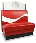Vitro Seating CK-1 SINGLE - Coca-Cola Brand Dynamic Ribbon Booth 44