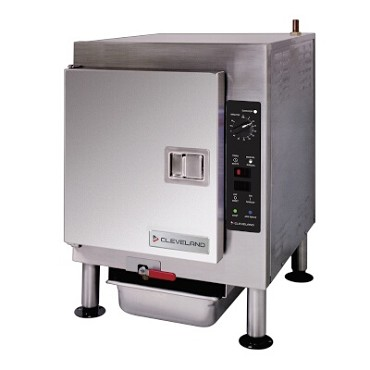 Cleveland 1SCEMCS - Steamer, countertop, electric, boilerless, pressureless, 1 compartment, (5) pan capacity