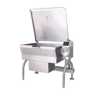 Cleveland SGL30T1 - Tilting Skillet, gas, 30-gallon capacity, bead blasted cooking surface, manual hand tilt