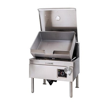 Cleveland SEL40TR - Tilting Skillet, electric, 40-gallon capacity, open base, hydraulic hand tilt