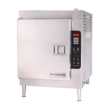 Cleveland 21CET16 - Convection Steamer, electric, countertop, 1 compartment, (5) pans/compartment