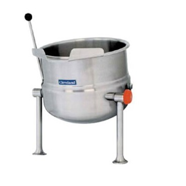 Cleveland KDT20T - Kettle, direct steam, countertop , tilting, 20-gallon, 2/3 steam jacket