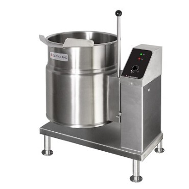 Cleveland KET20T - Tilting Kettle, electric, 20-gallon (76L) capacity, 2/3 steam jacket, lever style tilting