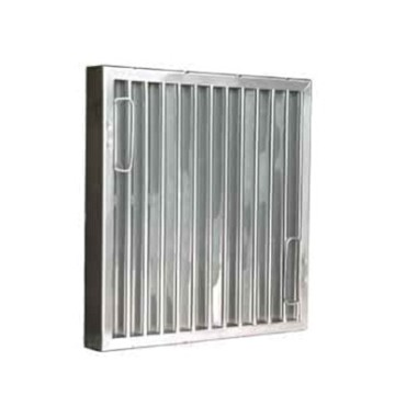 "Component Hardware 202025 - Baffle Filter, stainless steel, 20""H x 25""W, 1-7/8"" thickness"
