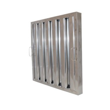 "Component Hardware FR51-2020 - Baffle Filter, stainless steel, 20""H x 20""W, 1-3/4"" thickness"