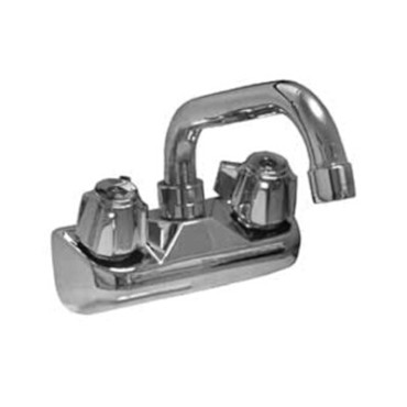 "Component Hardware TLL15-4108-SE1Z - Faucet, wall mount, 4"" OC, 8"" swing spout"