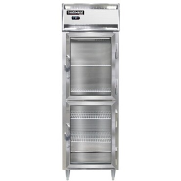 Continental Refrigerator DL1F-SS-GD-HD - Reach-In Freezer, 1-Section