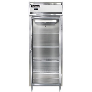 Continental Refrigerator DL1FE-GD - Reach-In Freezer, 1-Section