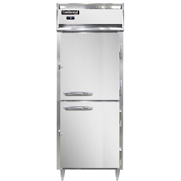 Continental Refrigerator DL1FE-SA-HD - Reach-In Freezer, 1-Section