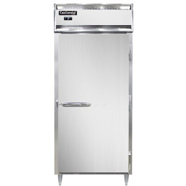 Continental Refrigerator DL1FX-SS-PT - Freezer, Extra-Wide, 1-Section