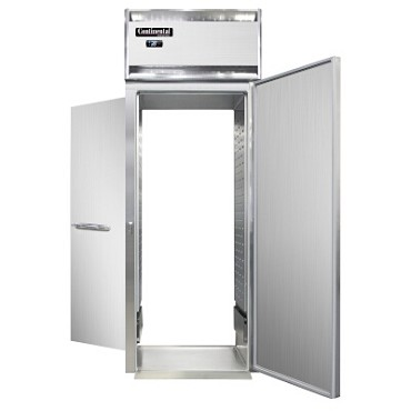 Continental Refrigerator D1RINSSRT - Roll-Thru Refrigerator, one-section, full-height solid doors