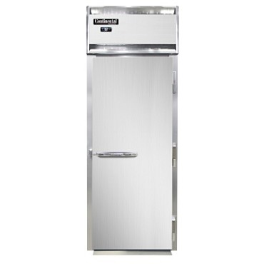 Continental Refrigerator D1RINSS - Roll-In Refrigerator, one-section, standard depth, full solid door