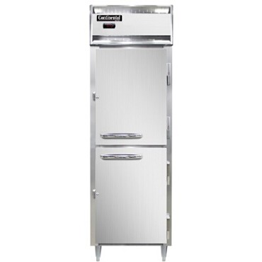 Continental Refrigerator DL1W-PT-HD - Pass-Thru Heated Cabinet, 1-Section