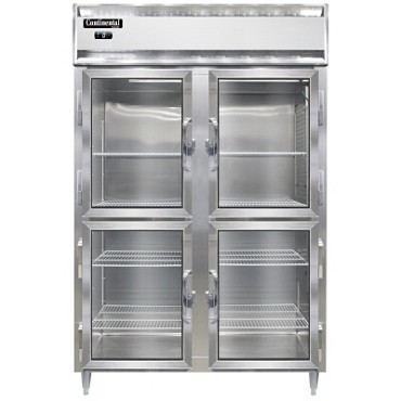 Continental Refrigerator DL2F-SA-GD-HD - Reach-In Freezer, 2-Section