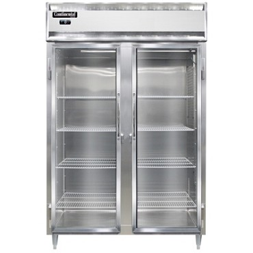 Continental Refrigerator DL2F-GD - Reach-In Freezer, 2-Section