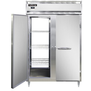 Continental Refrigerator DL2F-PT - Pass-Thru Freezer, 2-Section