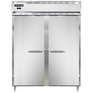 Continental Refrigerator DL2FE-PT - Freezer, Wide, 2-Section