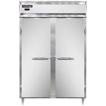 Continental Refrigerator DL2W - Reach-In Heated Cabinet, 2-Section