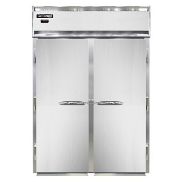 Continental Refrigerator DL2WI-E - Roll-In Heated Cabinet, 2-Section