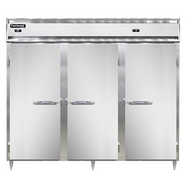 Continental Refrigerator DL3RRFE - Refrigerator/Freezer, 3-Section