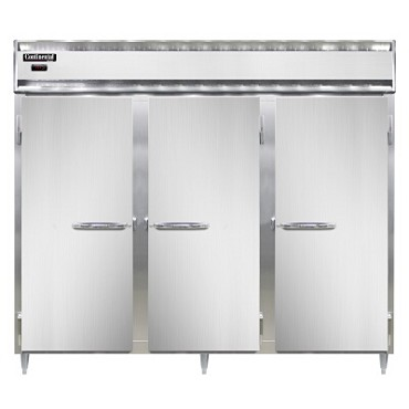 Continental Refrigerator DL3WE-SA - Reach-In Heated Cabinet, 3-Section