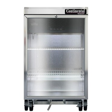 Continental Refrigerator BB24NGD - Back Bar Cabinet, Refrigerated