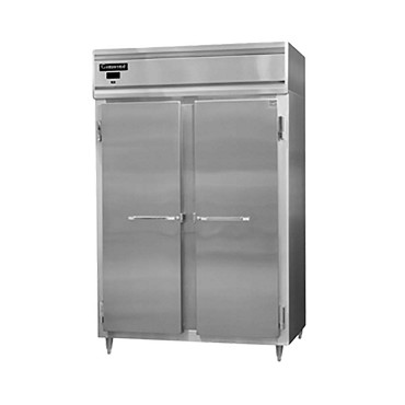 Continental Refrigerator D2RNSA - Reach-In Refrigerator, two-section, full solid doors
