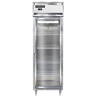 Continental Refrigerator DL1FS-SS-GD - Reach-In Freezer, 1-Section