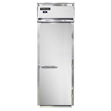 Continental Refrigerator D1RIN-E - Extra-High Refrigerator, roll-in, one-section, full solid door