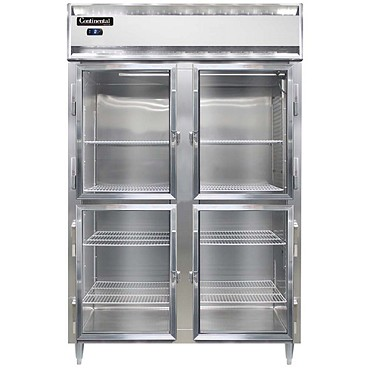 Continental Refrigerator DL2FS-GD-HD - Reach-In Freezer, 2-Section