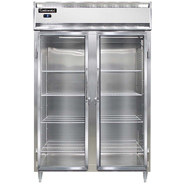 Continental Refrigerator DL2FS-SA-GD - Reach-In Freezer, 2-Section