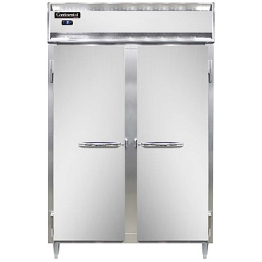 Continental Refrigerator DL2FS-SS - Reach-In Freezer, 2-Section
