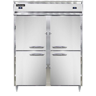 Continental Refrigerator DL2RFES-SS-HD - Refrigerator/Freezer, 2-Section