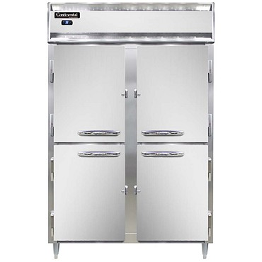 Continental Refrigerator DL2RS-SS-HD - Reach-In Refrigerator, 2-Section