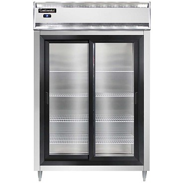 Continental Refrigerator DL2RS-SA-SGD - Reach-In Refrigerator, 2-Section