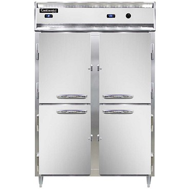 Continental Refrigerator DL2RW-SS-PT-HD -Refrigerator/Heated Cabinet