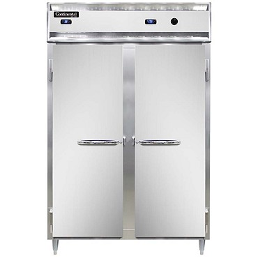Continental Refrigerator DL2RW-SA - Refrigerator/Heated Cabinet, 2-Section
