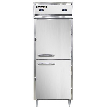 Continental Refrigerator DL1RFES-SS-HD - Refrigerator/Freezer, 1-Section