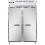 Continental Refrigerator DL2RW - Refrigerator/Heated Cabinet, 2-Section