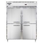 Continental Refrigerator DL2RWE-HD - Refrigerator/Heated Cabinet, 2-Section