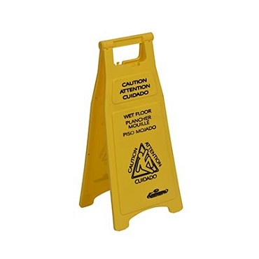 "Continental 119 - Sign, Wet Floor Caution, 12"" x 26"""