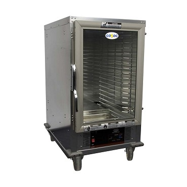 Cozoc HPC7008HF-C9F8 - Heated Proofer Cabinet, half-size, non-insulated, (17) pan capacity
