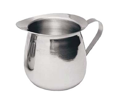 Update International BC-5 - Bell Creamer, 5 oz., 0.65 mm thick stainless steel