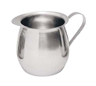 Update International BC-8 - Bell Creamer, 8 oz., 0.65 mm thick stainless steel