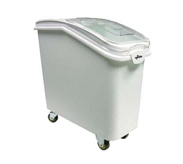 "Update International IGBN-21 - Ingredient Bin, 21 gallon, 29-1/4""L x 12""W x 28""H, white"