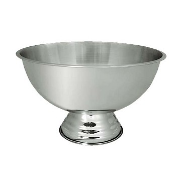 Update PB-3G - Punch Bowl, 3 gallon, pedestal base, stainless steel, mirror finish