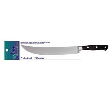 "Update International KGE-10 - Cimeter Knife, 11"", forged, German high carbon steel blade"