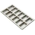 Focus 905755 - Mini-Loaf Pan, holds (12) 3-7/8