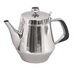 Update International GNS-20 - Teapot, 20 oz., gooseneck, 0.7 mm thick stainless steel